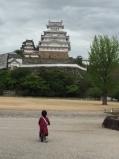 ちゃりと姫路城とめ